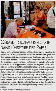 La Dépêche du Midi Aveyron, 2 août 2011