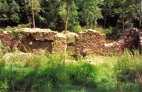 Moulin de la Souleyrie, sur le Viaur