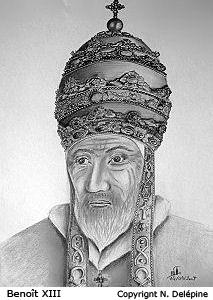 Le pape Benoît XIII